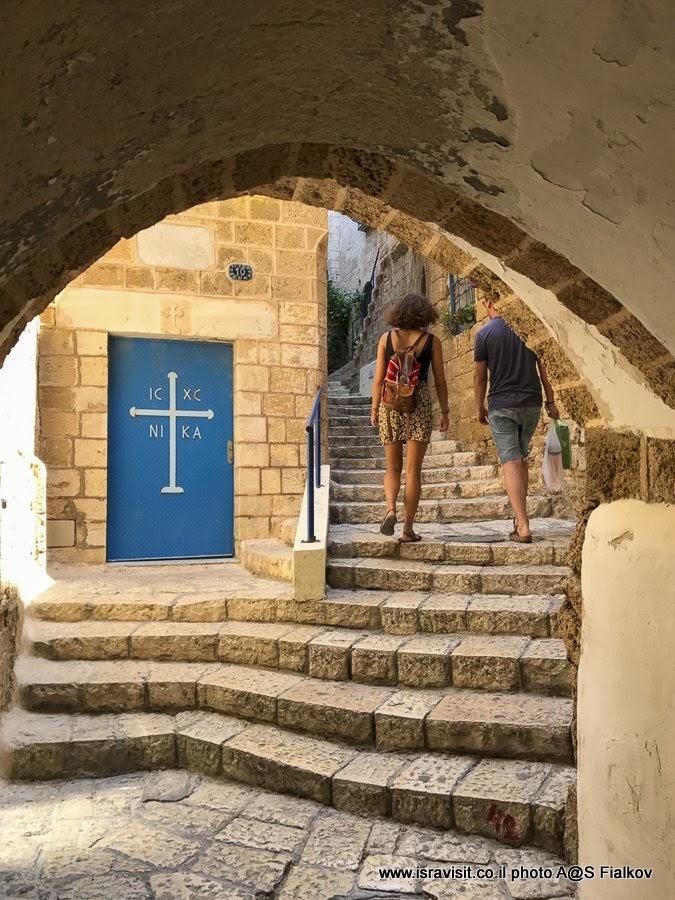 Экскурсия по очаровательным улочкам Старого Яффо. Израиль.