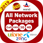 All Network Packages 2019 (Jazz Telnor Ufone Zong) 2.0.2