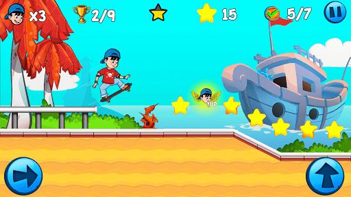 Skater Kid apkpoly screenshots 1