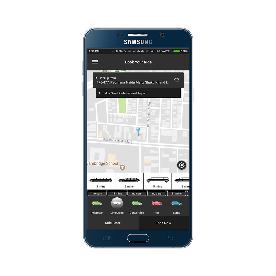 TecOrb Taxi- screenshot