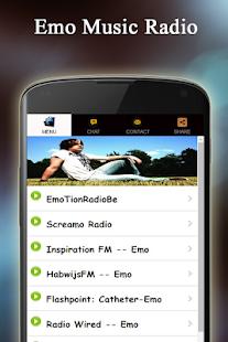 Emo Music Radio - náhled