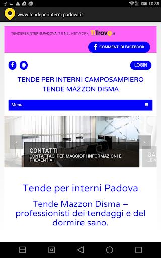 Tende per interni Padova