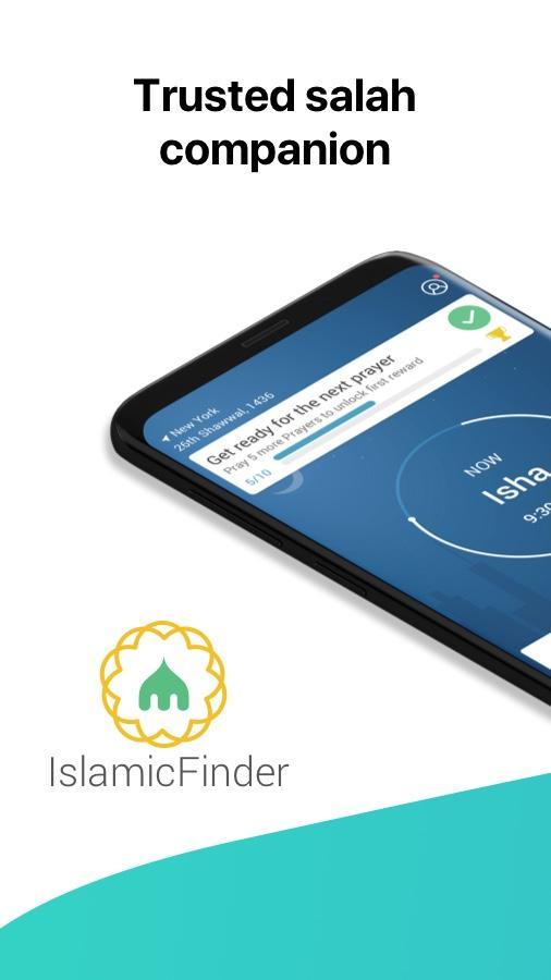 Athan: Prayer Times, Azan, Quran & Qibla Finder Screenshot 0