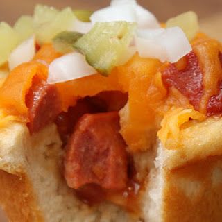 Hot Dog Cups #TastyJr