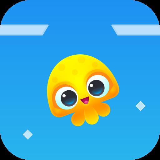 休閒必備App|章魚的跳躍 - Jump Up 篇 LOGO-綠色工廠好玩App