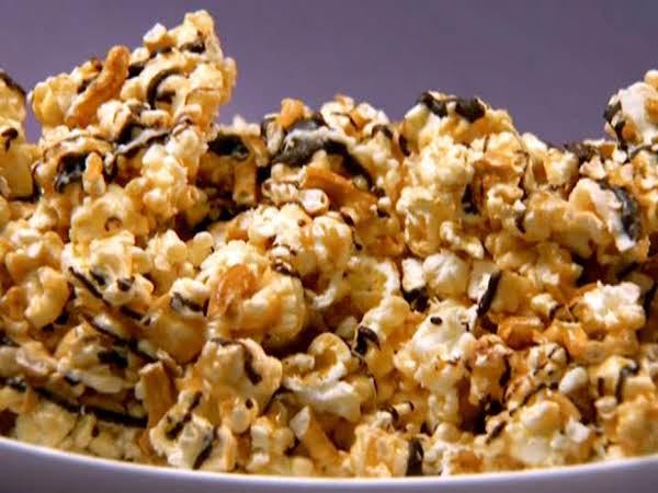 Sweet~n~salty Chocolate Popcorn Brittle Recipe