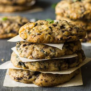Basil Chocolate Chunky Cookies