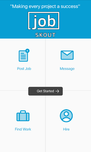 Hire & Freelance with Job Skout App Report on Mobile Action