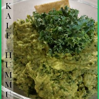 Super Healthy, Really Tasty Kale Hummus