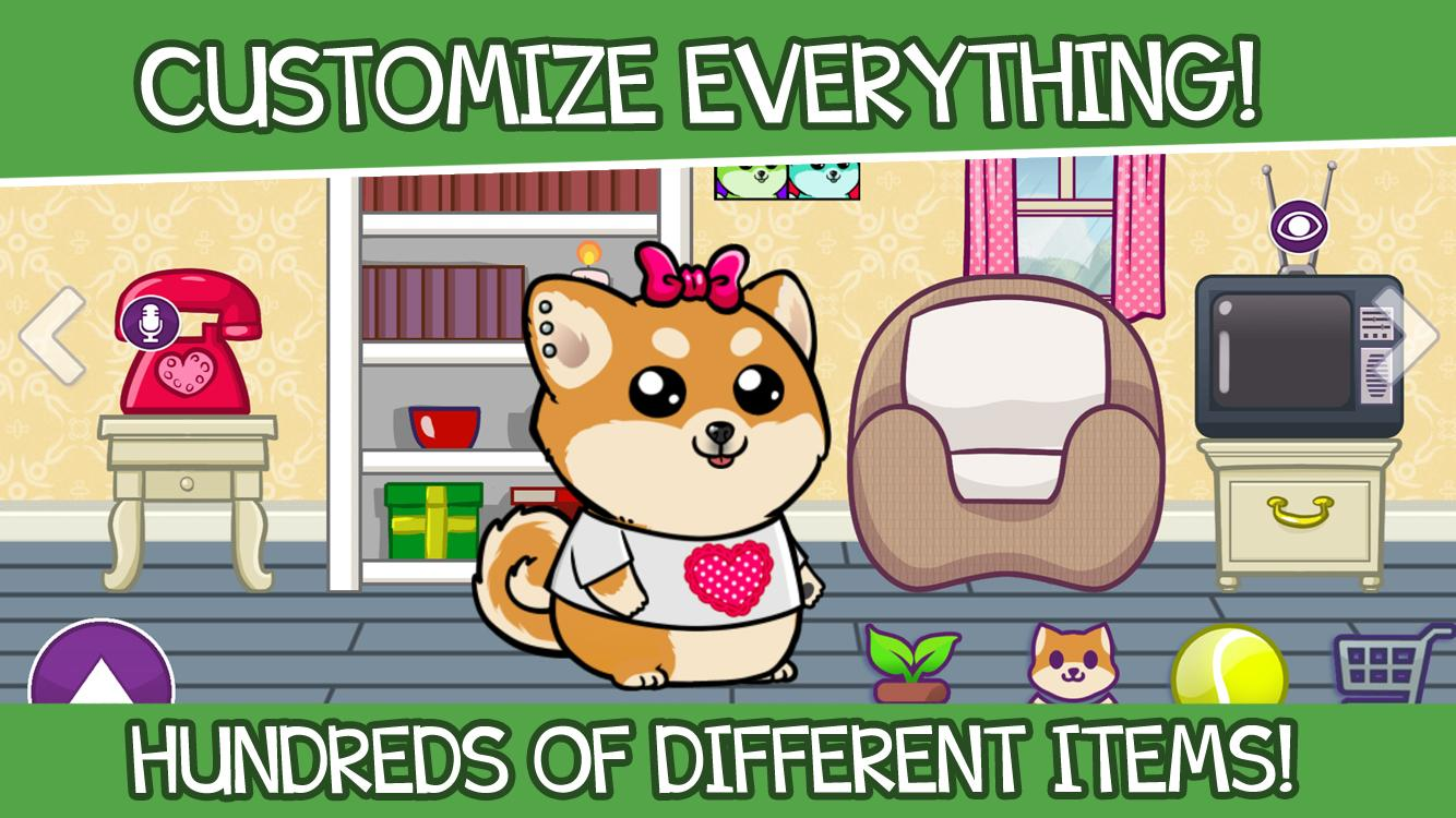 Virtual Dog Shibo - Pet, Minigames and Garden- screenshot