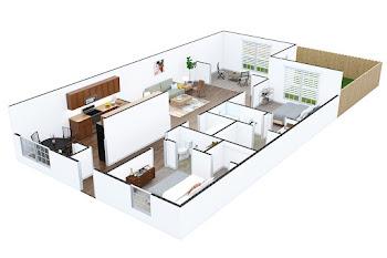 Go to Egret Floorplan page.