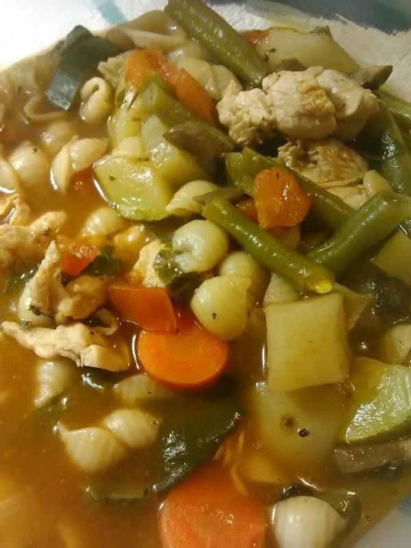 Italian Chicken Vegetable Soup Recipe