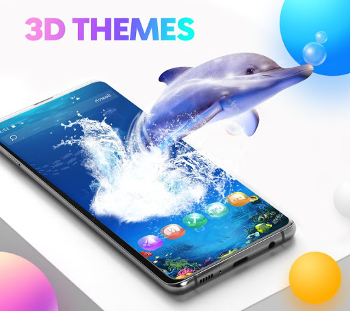 Screenshot for CM Launcher 3D - Themes, Wallpapers in United States Play Store