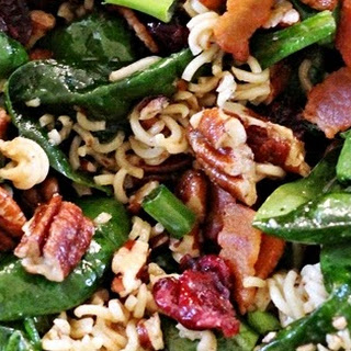 Crunchy Spinach Salad Recipes