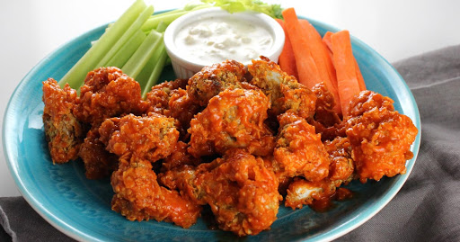 Crispy Buffalo Cauliflower