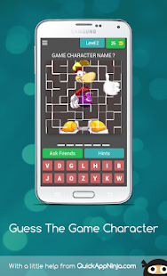 Guess The Game Character for PC-Windows 7,8,10 and Mac apk screenshot 3