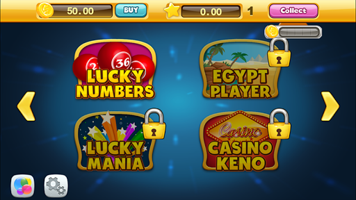 Lucky Keno Numbers KenoGames 11.0 screenshots 2