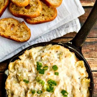 Hot & Cheesy Crab and Artichoke Dip
