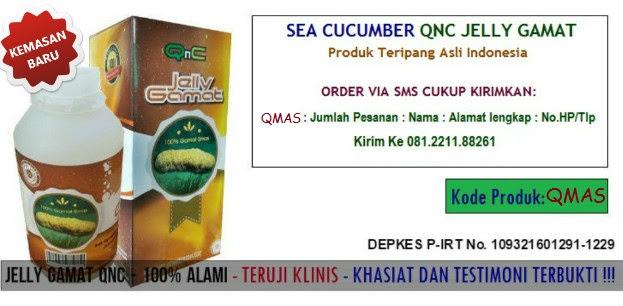 Cara Pemesanan QnC Jelly Gamat Asli Via SMS