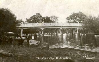 Photo: The New Bow Bridge Wateringbury