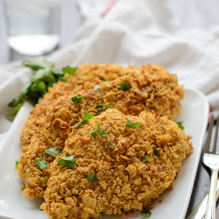 Baked Fried Chicken With No Eggs Recipes.