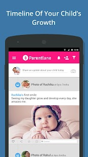 Parenting tips on baby care screenshot