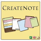 CreateNote: Notes, Alarm, Colors, Text to Speech icon