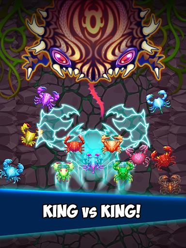 Crab War : Idle Swarm Evolution screenshot 11
