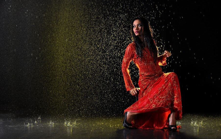 its raining by Hairany Salleh - People Fashion ( water )