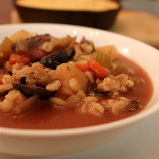 Venison and Barley Soup.