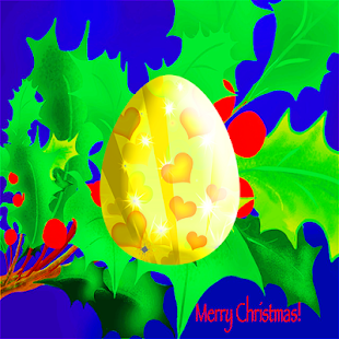 Christmas Golden Egg - náhled