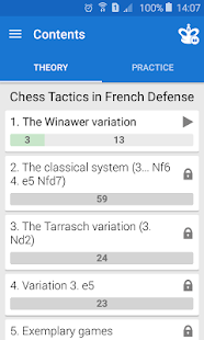Chess Tactics in French Def- screenshot thumbnail
