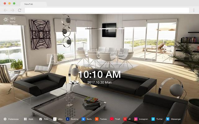 Interior Design HD Design New Tabs Theme