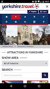 yorkshire.travel screenshot