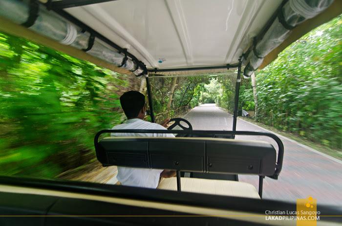 Sun Island Resort Maldives Golf Cart