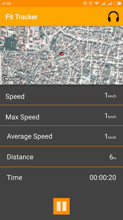 Run Tracker - στιγμιότυπο οθόνης