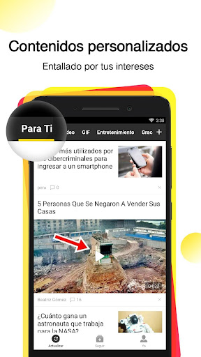 Topbuzz -Vídeos virales, noticias y GIFs graciosos screenshot 1