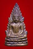 พระพุทธชินราช รุ่นอินโดจีน พิมพ์ต้อบัวขีด (แต่งเก่า) ปี 2485