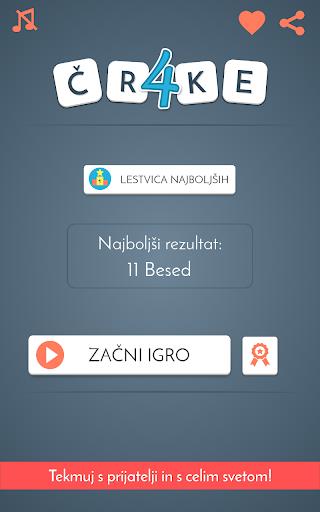 u0160tiri u010crke - Kviz Slovenija  screenshots 4