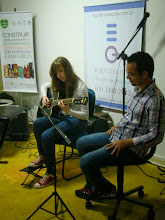 Photo: Julia e Profº Theo