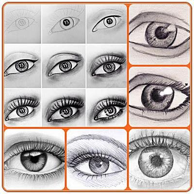 Draw Eyes - Easy Steps - screenshot