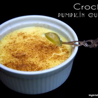 Crock Pot Pumpkin Custard (GAPS, Paleo, Gluten Free, Grain Free) Recipe