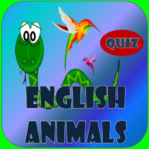 英語動物クイズ 解謎 LOGO-玩APPs