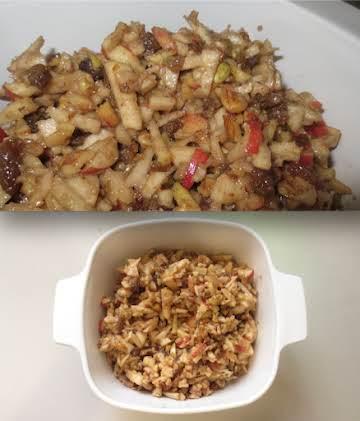 Honey Apple Charoset (Side Dish)