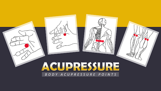 Acupressure Body Points [YOGA] 1