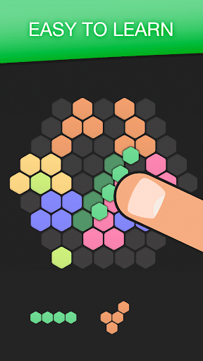 Hex FRVR - Drag the Block in the Hexagonal Puzzle  screenshots 1