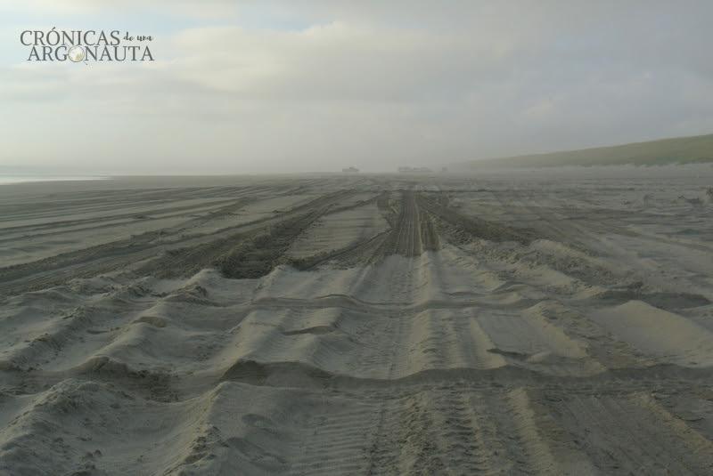 autostop en la costa oeste de Estados Unidos