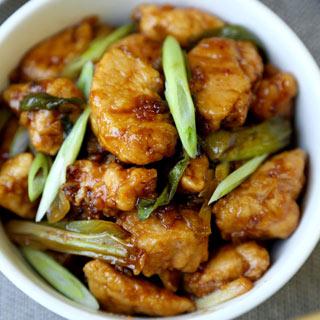 Mongolian Chicken.