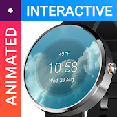 Weather Watch Face Interactive