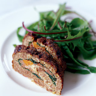 Meat Loaf Stuffed with Prosciutto and Spinach